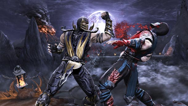 sub zero and scorpion. sub zero vs scorpion story.