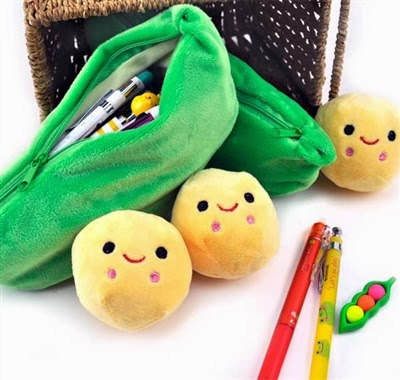 veggie pencil cases at CoolPencilCase.com