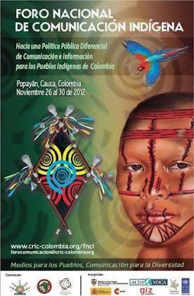 Foro Nacional de Comunicación Indígena