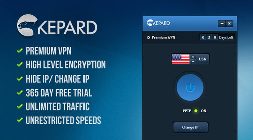 Premium VPN account Kepard With the full version