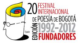 XX FESTIVAL INTERNACIONAL DE POESÍA DE BOGOTÁ