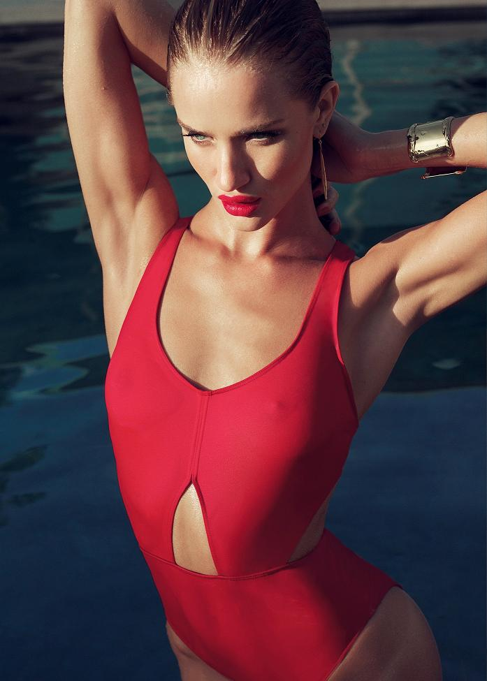 Rosie Huntington-Whiteley poses for Tom Munro Photoshoot 2011