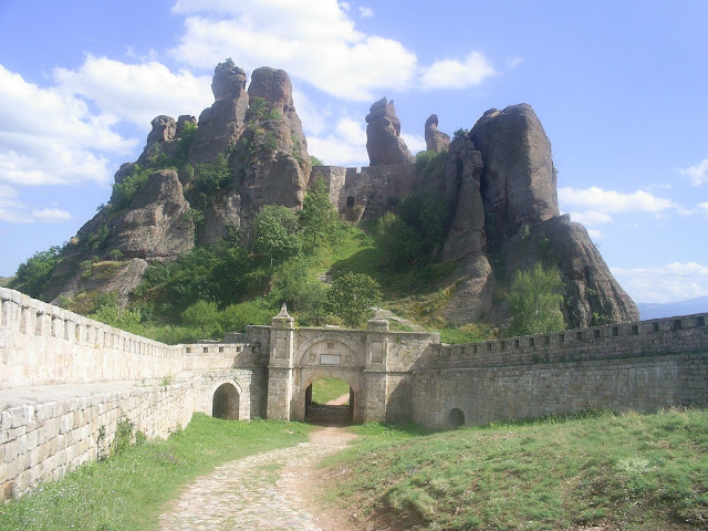 Belogradchick Rocks and the fortress,Bulgaria