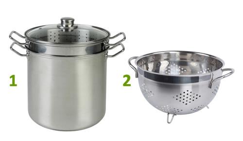No te prives de los beneficios de cocinar al vapor por no tener los utensilios adecuados los - Utensilios para cocinar al vapor ...
