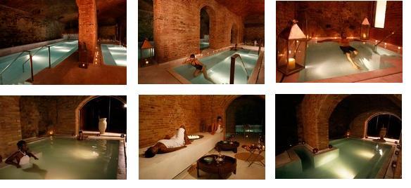 Baños Arabes Zonaregalo:Aire de Barcelona, baños árabes situados en el barrio de El Borne