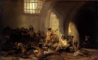 Casa de locos - Francisco de Goya