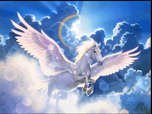 Fantasy pegaso cavallo alato - Mitologia greca mitologia cavallo uomo ...