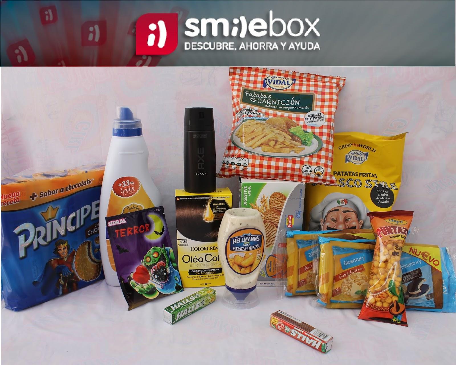 caja mensual smilebox
