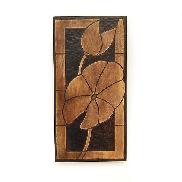 Wall Art In Wood : Wall plaque mango wood art sculpture