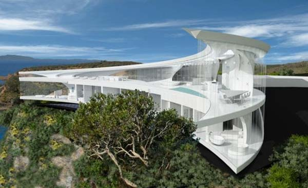 Architecture nest architecture mahina house for Moon architecture