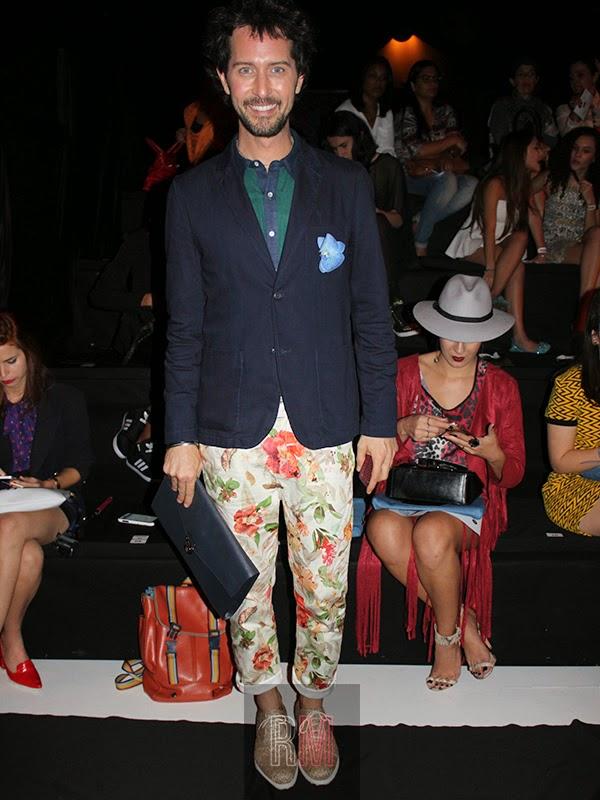 men style, floral pants