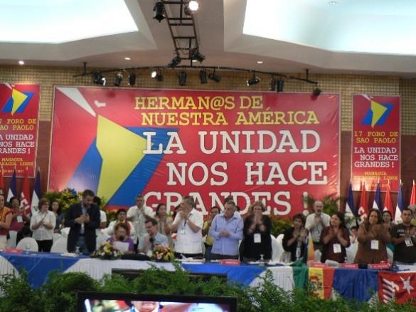América Latina: Declaração reforça plataforma progressista do Foro de São Paulo