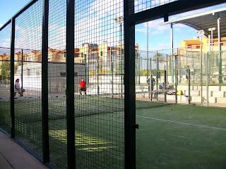 Pistas de padel municipales Garrido, Salamanca