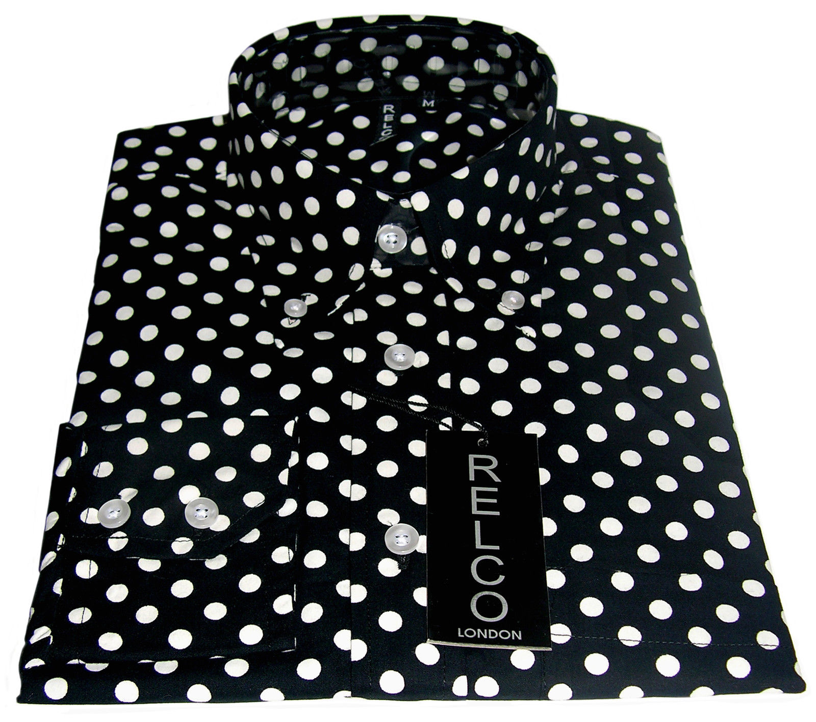 Making my 12th doctor costume: Polka-dot shirt