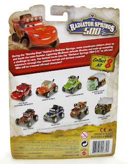 mattel 500 1/2 package back