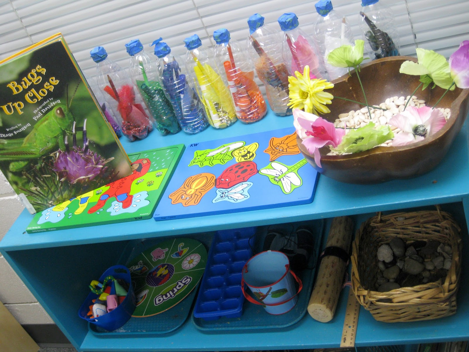 Pre-K Tweets: Spring Math and Science Centers