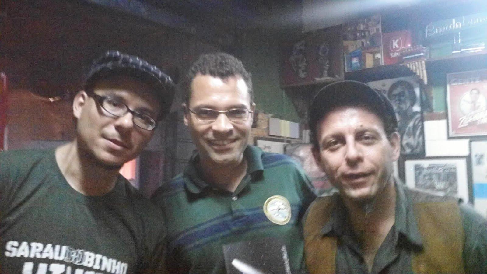 Paulo Rams, Eloi Alves e Claudio Laureatti