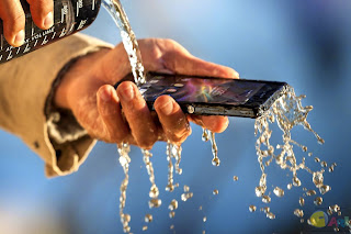 Sony Ericsson Xperia Z HD water resistant