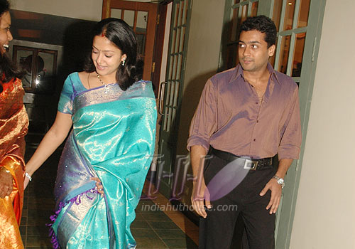jyothika surya marriage