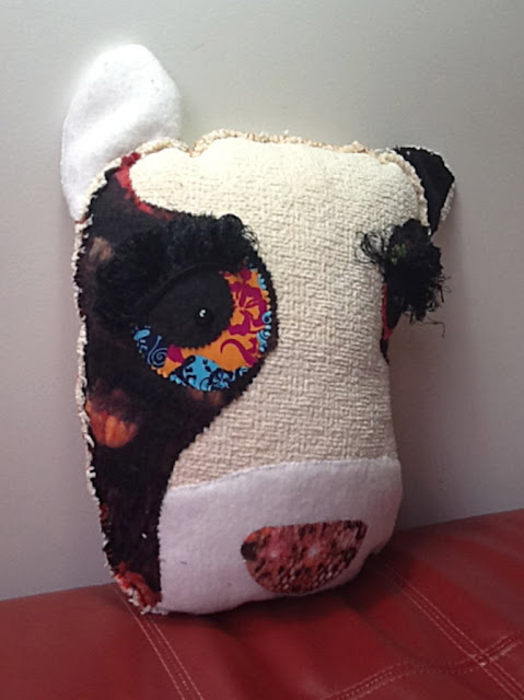 quirky whimsical cushion