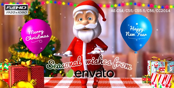 VideoHive Christmas-Happy Santa