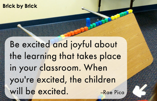 Brick by Brick: Excited and Joyful About Teaching (Pica)