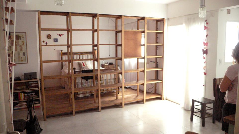 Bibliotecas y estanterias biblioteca separador de - Estanterias separadoras de ambientes ...