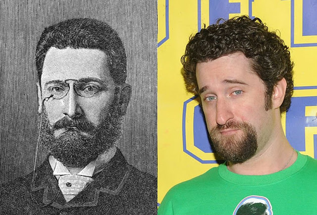 Parecidos razonables: Joseph Pulitzer y Dustin Diamond.
