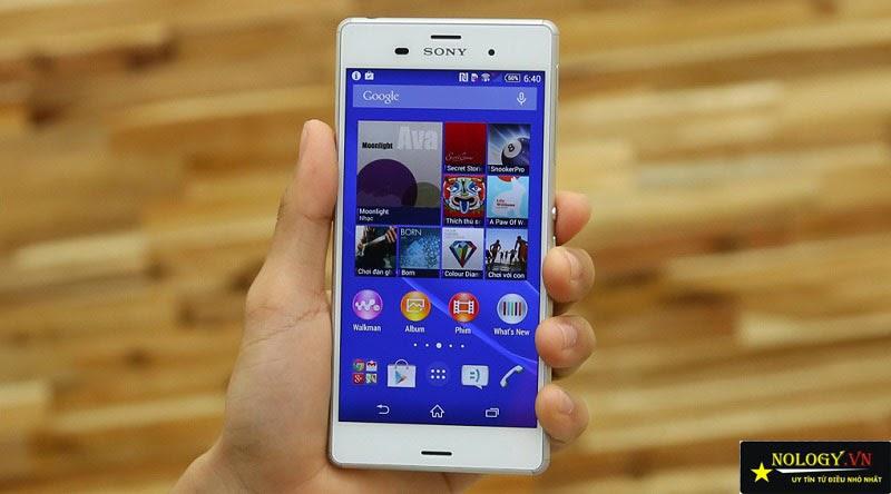 Hướng dẫn test Sony Z3 Nhật Bản khi mua