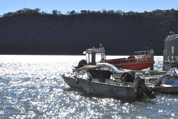 Dangar Island boats