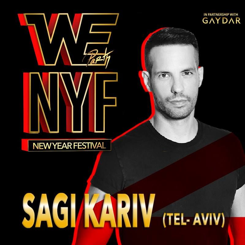 SAGI KARIV - WE PARTY NEW YEAR FESTIVAL 2015-16