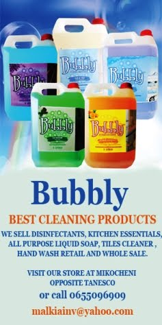 BUBBLY CLEANING PRODUCTS