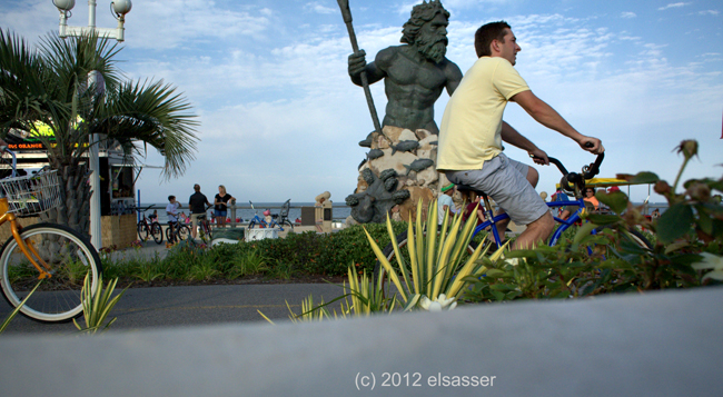 "'bike riders"" (c) 2012 george elsasser"
