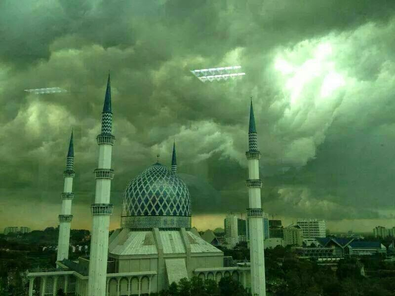 Fenomena Awan | Kebesaran Allah | Imam | Masjid Negeri | Shaklee | Sg. Buloh