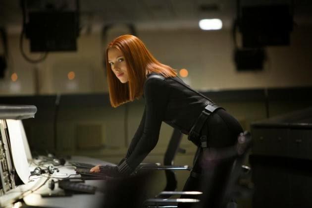 Scarlett Johansson en  Capitán América: El soldado de Invierno