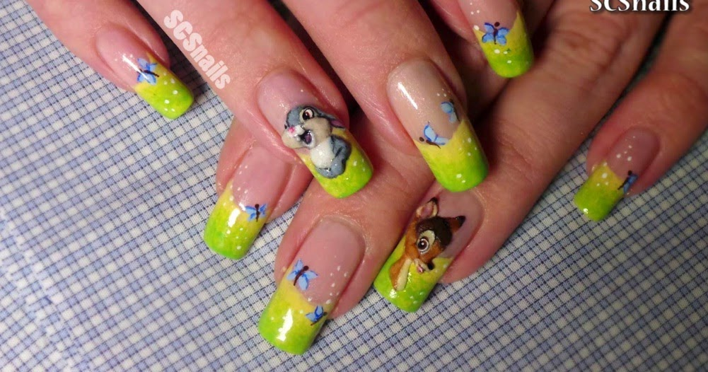 Nails art video tutorial bambi nail art tutorial acrylic 3d share this post prinsesfo Choice Image