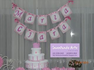 festa decoração shabby chic