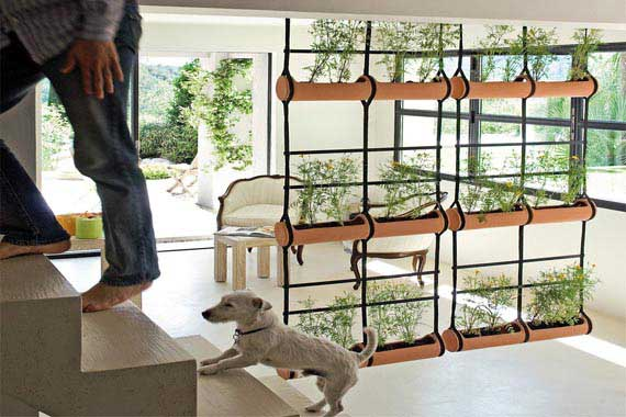 Partitions Dividers 6 DIY Vertical Garden Room Divider