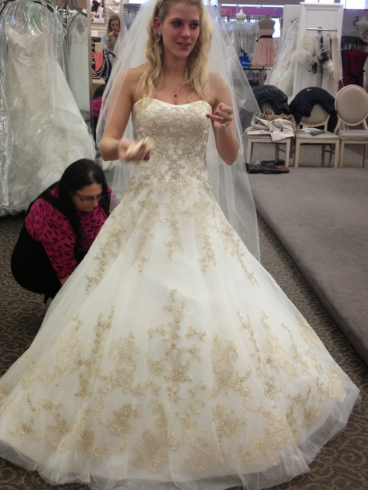 shopping for a wedding dress