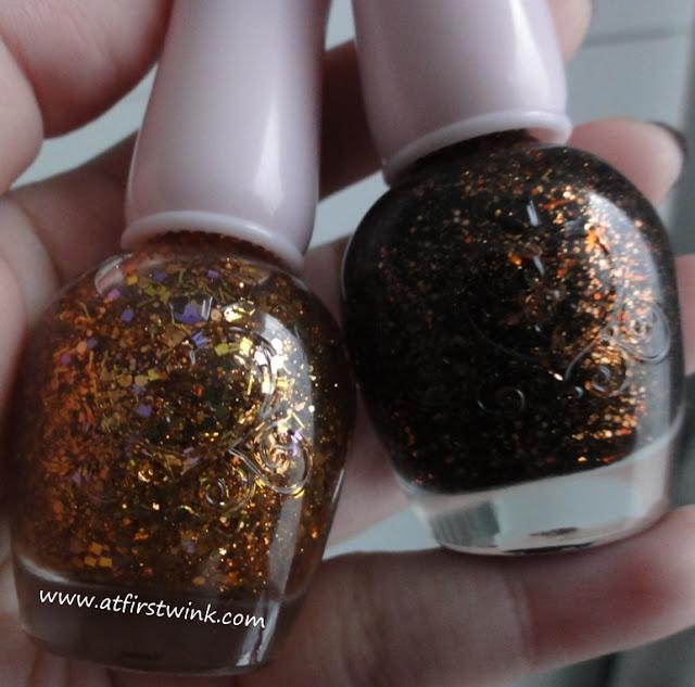 Etude House If Story nail kit 2 nail polishes