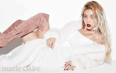 Yubin Wonder Girls Marie Claire Magazine November 2015