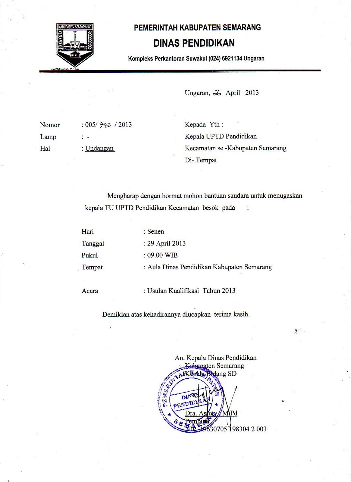 Contoh Surat Undangan Rapat Osis Dalam Bahasa Sunda