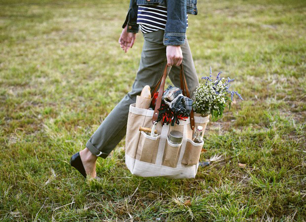 the perfect picnic bag