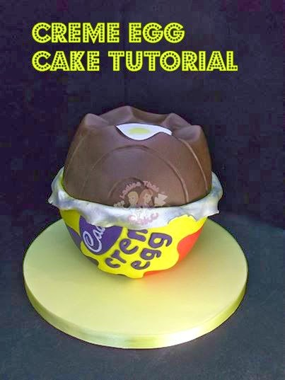 A matter of choice: Creme Egg Cake Tutorial