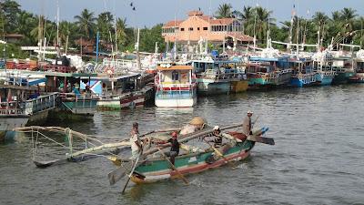 Шри-Ланка, Негомбо, рыбаки