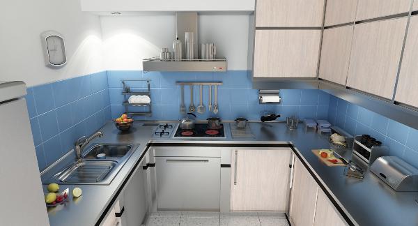 A lighter kitchen