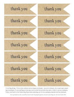 Luscious image throughout free printable thank you tags