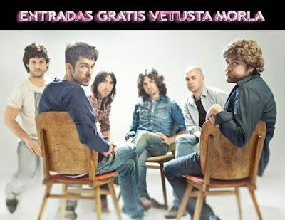 Consigue gratis entrada doble Concierto Privado de Vetusta Morla