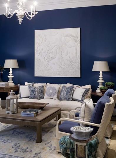 Jodie Carter Design Navy Blue Interiors