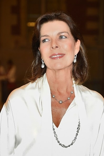 Princess Caroline of Monaco attends a benefit in the Rijksmuseum in Amsterdam, on 07.11.2014